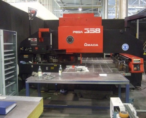 AMADA PEGA 358 4 AUTO-INDEX
